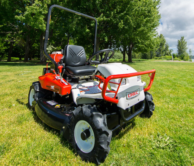 Riding Brush Mower The Brush Rover Orec America