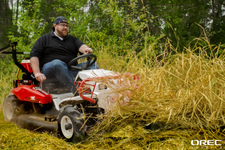 Fall field mower checklist Great Cut: Check! Easy to Handle: Check! Best Traction Check!