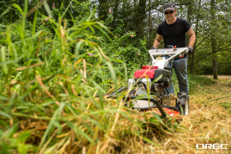 A field mower that will pick up and mulch your woody material will help you take back your field in fall.