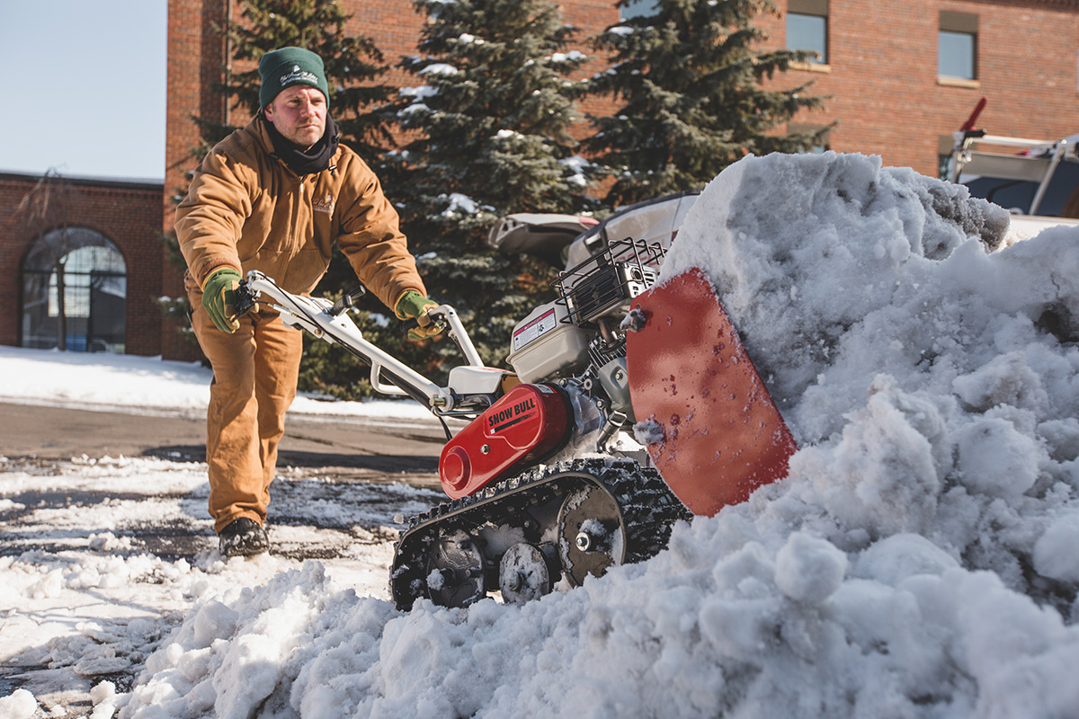 Snow Removal Equipment Snow Thrower Vs Snow Plow Orec