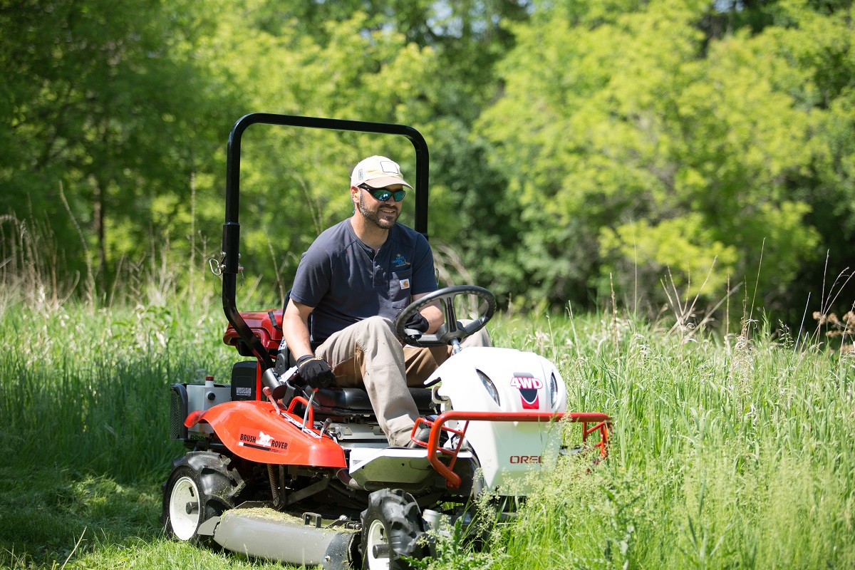 Riding-Brush-Mowers