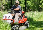 4WD Riding Brush Mower tall grass