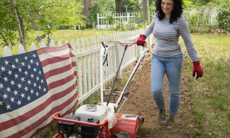 User-Friendly Garden Tiller