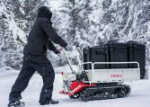 Motorized Carrier Snow Hauling
