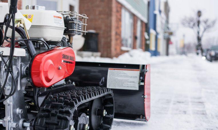 Snow Bull Snow Plow Sidewalk