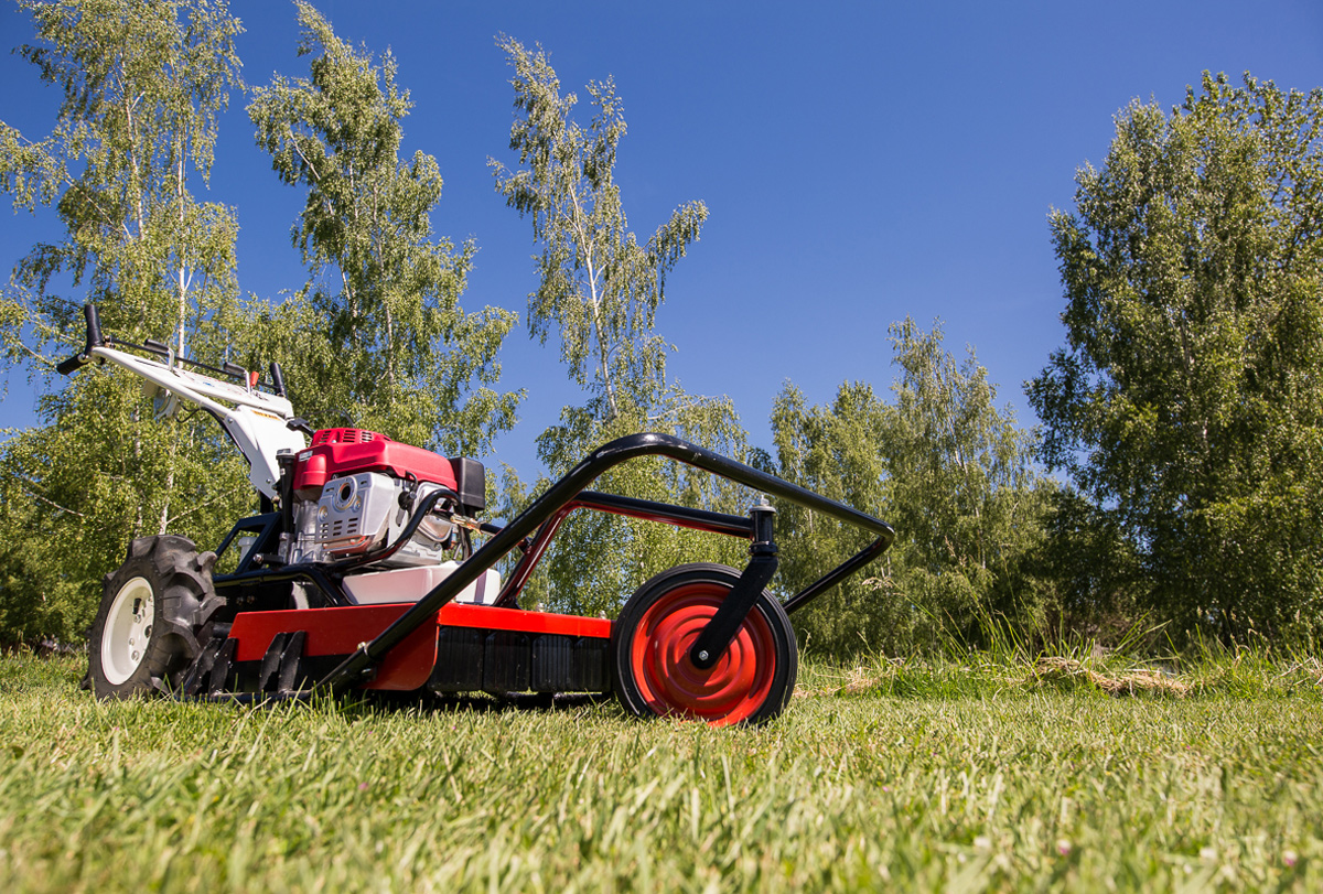 Orec America Samurai Walk Behind Brush Cutter