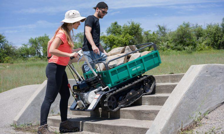 2020 Web Trailblazer motorized carrier action63
